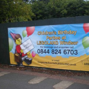 Legoland Outdoor Banner