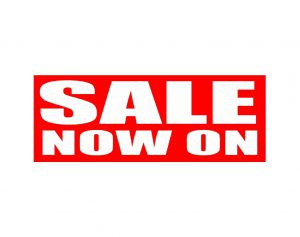 Ready to Go Sale Now On