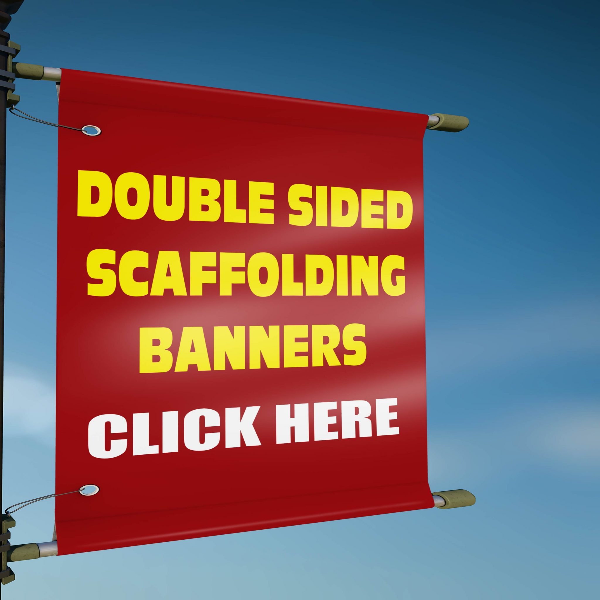 Double Sided Scaffolding Banners